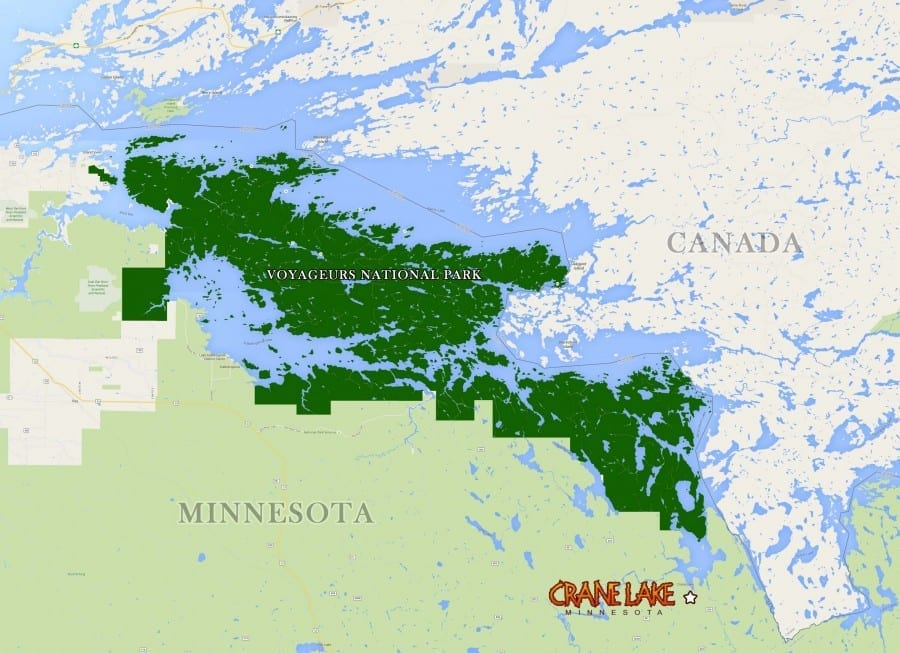 voyageurs-national-park-map
