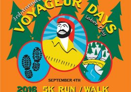 Labor Day Weekend and the 5K Walk/Run