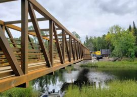 ATV Update: New Steel Bridge over the Vermilion River