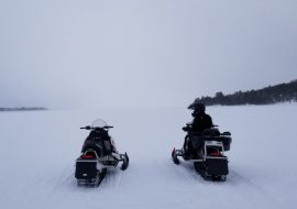 Snowmobile Safety in Voyageurs National Park