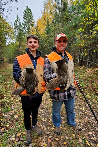 Crane Lake Minnesota Grouse Hunting